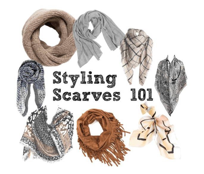 How to wear a scarf and look amazing