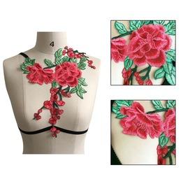 Garden Floral Lingerie Harness Set