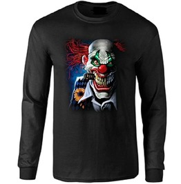 Psycho Killer Clown Long Sleeve T Shirt