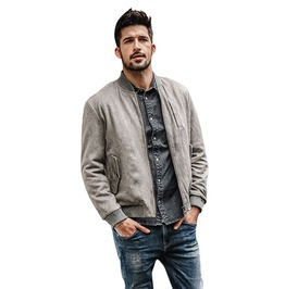 Urban Style Men's Suede Jacket