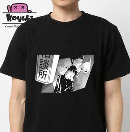 Mob Psycho 100 Tshirt Anime Cool Black