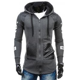 Urban Men's Sweatshirt Hoodie Jacket
