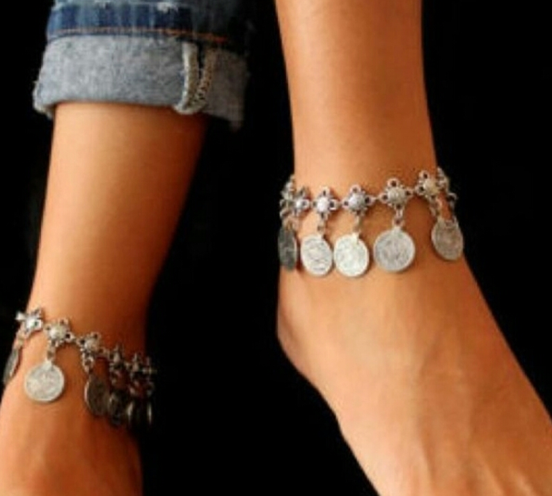 gold anklet charming cool and simple stuning jewlery hamsa ankle