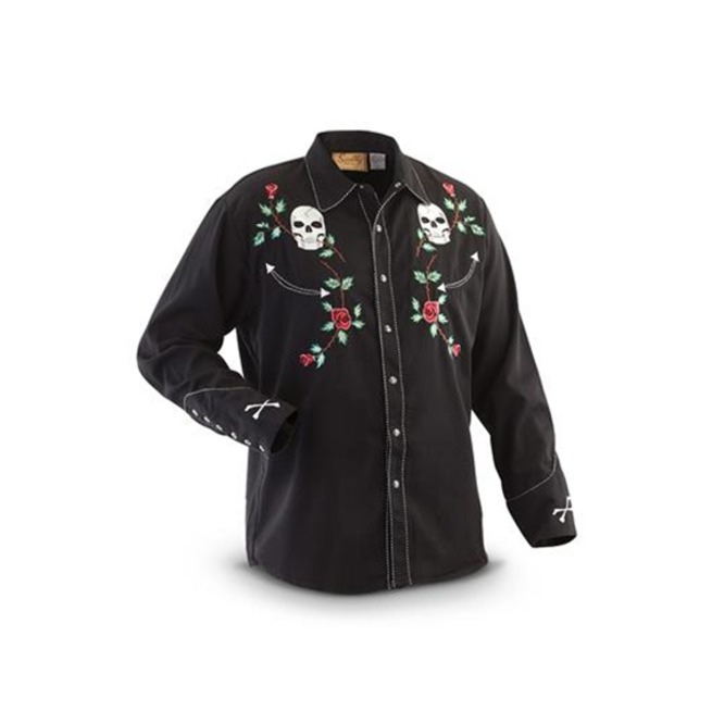 rebelsmarket_scully_western_skull_and_floral_embroidery_black_cowboy_pearl_snap_shirt_shirts_4.jpg