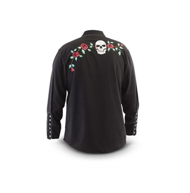 rebelsmarket_scully_western_skull_and_floral_embroidery_black_cowboy_pearl_snap_shirt_shirts_3.jpg