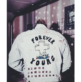Forever Young Rip Denim Jacket