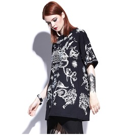 Oversized Womens Occult T Shirt Top