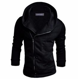 Streetwear Urban Men's Hooded Zipper Sweatshirt