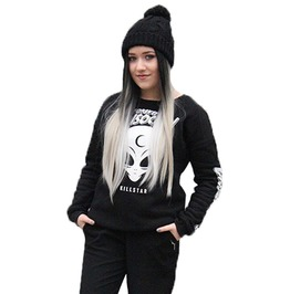 "Gothic Women's ""Forever Social"" Printed Sweatshirt"