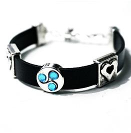 Submissive Dominant Bdsm Jewelry Bracelet Triskele Triskelion Symbol Cuff
