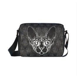 Black Cat Cross Body Shoulder Bag