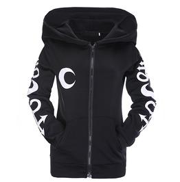 Gothic Women's Lunar Witch Hooded Sweatshirt