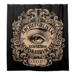Ouija Mystic Eye Shower Curtain