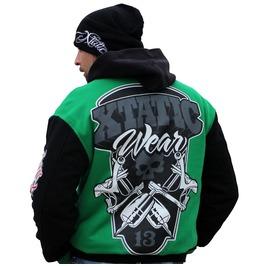 Xtatic Wear Varsity Jacket Green