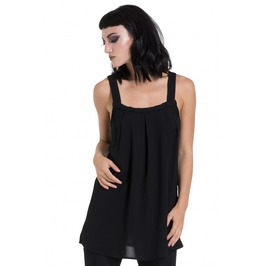 Jawbreaker Clothing Black Crepe Fashion Top