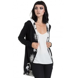 Jawbreaker Clothing Black Moonstone Cardigan