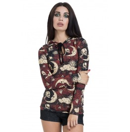 Jawbreaker Clothing Red Moonstone Hoodie