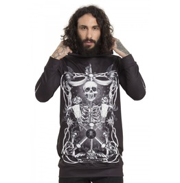 Jawbreaker Clothing Black Muerte Tarot Men's Hoodie