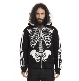 Jawbreaker Clothing Black Skeletor Hoodie