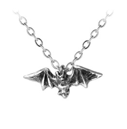 Kiss Of The Night Unisex Gothic Necklace By Alchemy Gothic