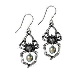Glistercreep Ladies Gothic Earrings By Alchemy Gothic