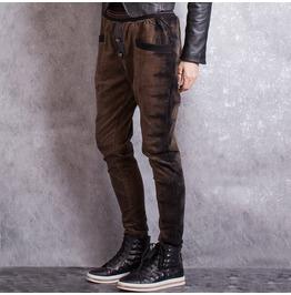 Womens Brown Punk Pant