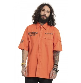Jawbreaker Clothing Alcatraz Orange Shirt