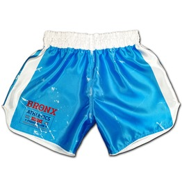 Boxing Shorts Bronx 70s Retro Vintage Style Old School Boxer Trunks Mma New
