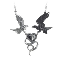 Epiphany Of St. Corvus Ladies Gothic Pendant By Alchemy Gothic