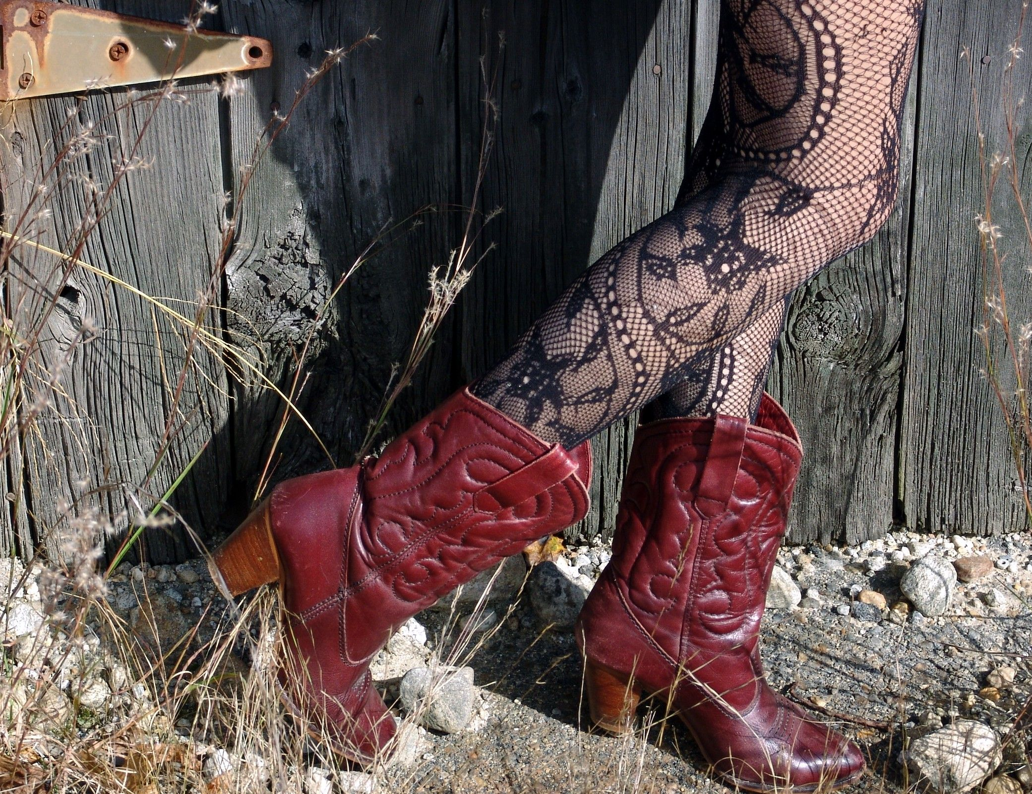 Toughen up how to style a dress with boots