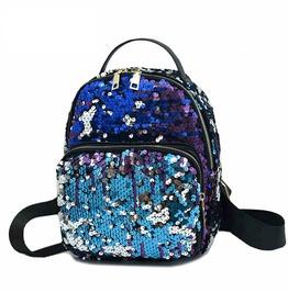 Punk Sequins Mini Backpack