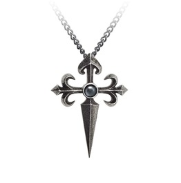 Santiago Cross Men's Gothic Pendant By Alchemy Gothic