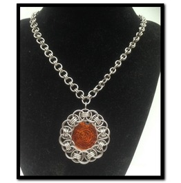 Medallion Matinee Necklace