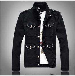 Korean Style Denim Men Jacket