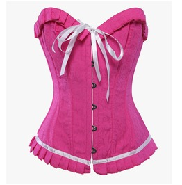 Kawaii Pink Trainer Women Corset