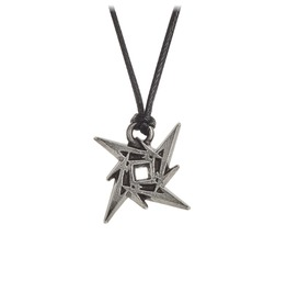 Metallica Ninja Star Unisex Necklace By Alchemy Gothic