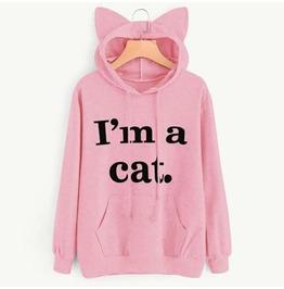 """I Am A Cat"" Women Hoodies Sweatshirt"