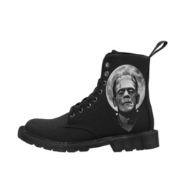 Frankenstein Moon Ladies Combat Boots