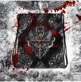 Gothic Baroque Egypt Ankh Drawstring Bag