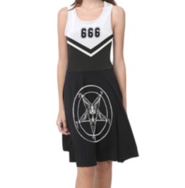 Baphomet Cheer Dress
