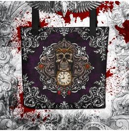 Reapers Skull Tote Bag