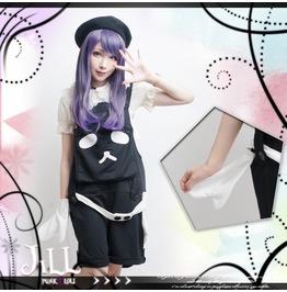 Lolita Fantasy Kawaii Picasso Chinese Panda Gallus Romper Shorts Jj2005