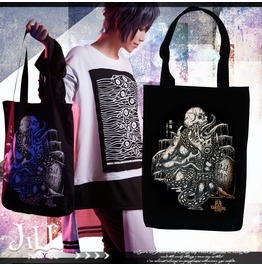 Punk Rock Yamigang Romancing Demon Spawn Canvas Shopper Tote Bag Jag0066
