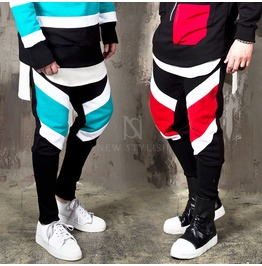 Contrast Striped Sweatpants 289