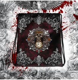 Reapers Skull Drawstring Bag