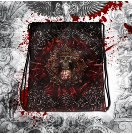 Blood & Gore Reapers Skull Drawstring Bag
