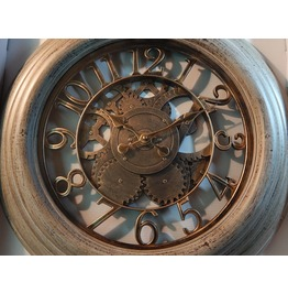Steampunk Clock With Gears