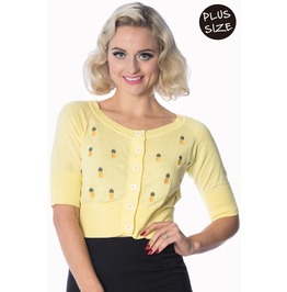 Banned Apparel Pineapple Cardi Plus Size