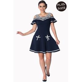 Banned Apparel Set Sail 2 Fer Dress Plus Size