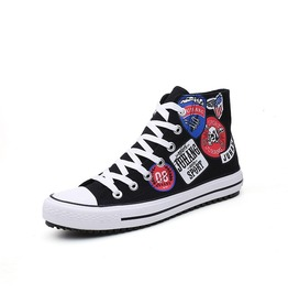 Graffiti Grunge Men Casual Shoes